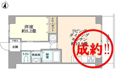 永谷リヴュール新宿 成約