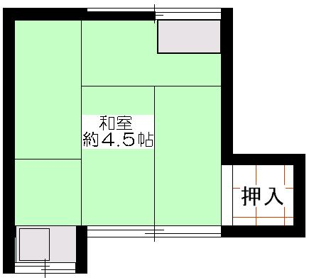 中西アパート207号間取